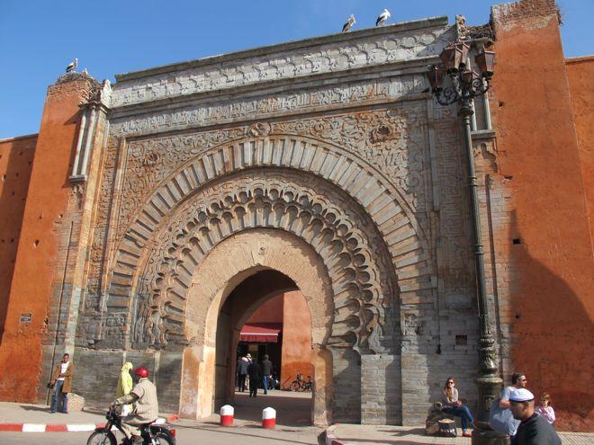 Medina Gate Bab Agnaou,